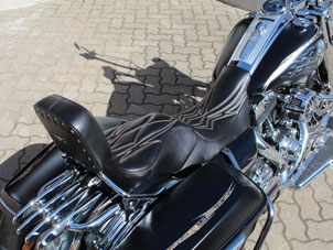 Road King - Pinstitching